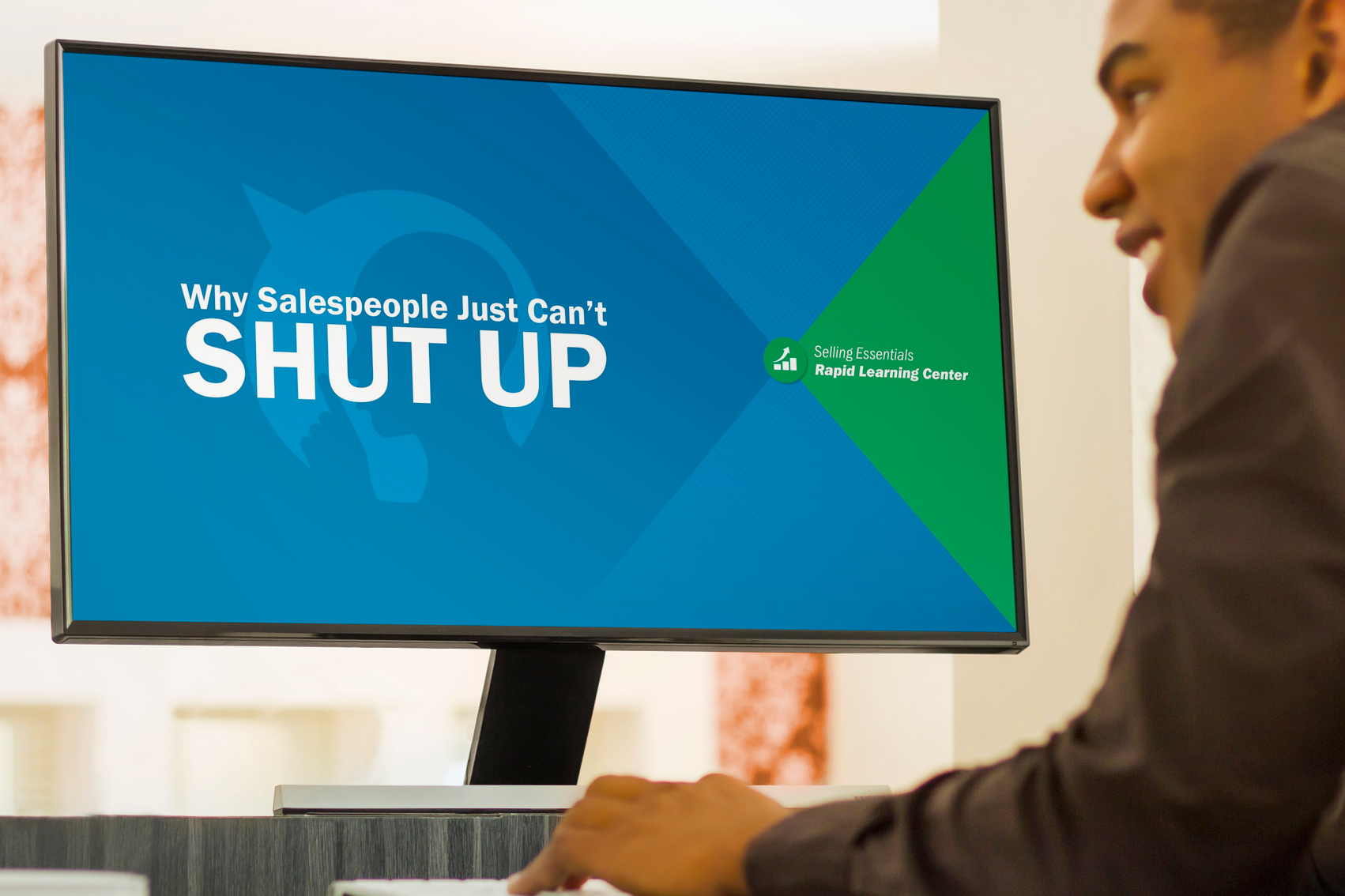 Why Salespeople Just Can't Shut Up